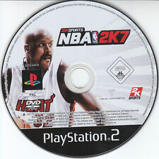 2K Sports NBA 2K7 Sony PS2 Game PlayStation 2 Spiel Pal