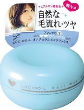 Lucido-L Natural Make Hair Wax 60g