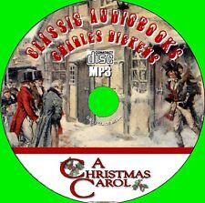 A CHRISTMAS CAROL Charles Dickens Classic Xmas Novel Audiobook MP3 CD UNABRIDGED