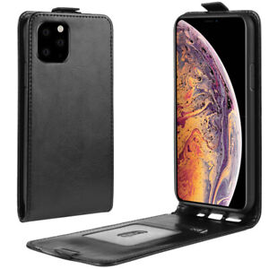 For Apple iPhone 11 / 11 Pro / 11 Pro Max Vertical up down Flip PU Leather Cover