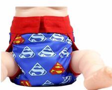 Superman Logo Adjustable Polyester Unisex Children's Reusable Diaper