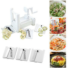 Kitchen Tri Blade Spiral Shred Peeler Vegetable Fruit Slicer Spiralizer Cutter