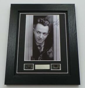 JOE STRUMMER SIGNED Preprint THE CLASH Film Cells Framed PUNK MEMORABILIA GIFTS
