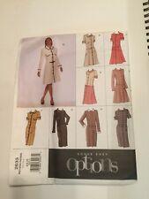 Vogue Designer Sewing Pattern 2633 Size 12 14 16 Shirt Dress Easy Options