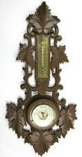 baromètre anérïde, thermomètre, forêt noire
