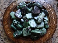 RUBY ZOISITE 1/4 Lb Gemstone Specimens Tumbled Wiccan Pagan Metaphysical