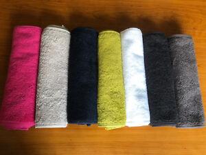Cotton Gym / Sweat Towel 30cm x 100cm -7 Colours Available -Running, Yoga, Sport