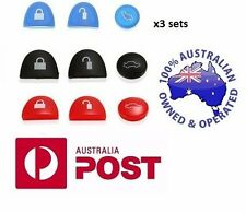 3 X SET holden commodore repair set Key Buttons BLUE BLACK RED VS VT VX VY VZ