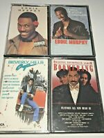 VTG Lot of 4 Cassettes -Eddie Murphy (Boomerang/B.H.Cop/Stand-Up Comedy) GC