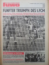 FUWO 18 - 3.5. 1978 ** 1.FC Magdeburg Pokalsieger-Dynamo Dresden 1:0 Europa-Cup