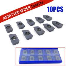 10 x APMT1604 25R0.8 Indexable Carbide Inserts APMT1604PDER-H2 VP15TF Blades US
