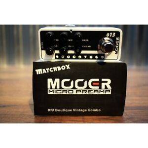 Mooer Audio Matchbox 013 Matchless Amp Modeling Preamp Guitar Effect Pedal