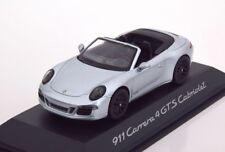PORSCHE 911 (991) CARRERA 4 GTS 2014 CABRIOLET 1:43 SCHUCO (DEALER MODEL)