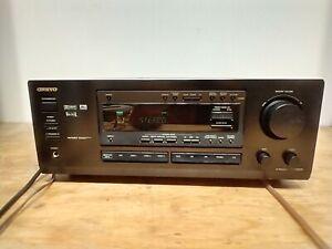 Onkyo TX-DS575X 5.1 CH Surround Sound Home Theater A/V Receiver No Remote