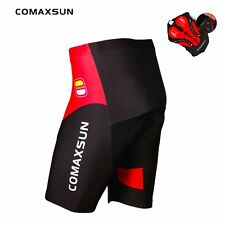 COMAXSUN Cycling Shorts Gel Padded Outdoor Shockproof MTB Bicycle Road Tights