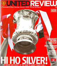 MANCHESTER UNITED v PORTSMOUTH 4 JAN 2003 FA CUP EXC COND.