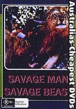 Savage Man Savage Beast  DVD NEW, FREE POSTAGE WITHIN AUSTRALIA REGION ALL