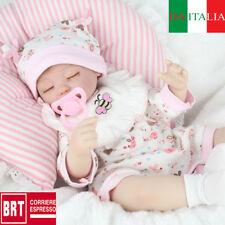 "Lifelike Reborn Baby Doll 17"" Doll Vinyl Kids playmate Bambole rinascere Xmas"