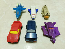 GOBOTS. MACHINE ROBO. WENDY'S TOYS LOT OF 6.