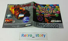 Sony Playstation PS1 Bust-A-Move Arcade 2 Edition Notice / Instruction Manual