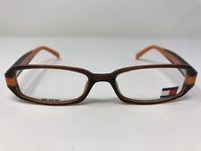 Tommy Hilfiger Eyeglasses Frame TH3126 BRNOR 50-15-135 Brown/Orange SQ22