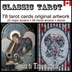 classic tarot cards deck rare major minor arcana oracle book guide reading game