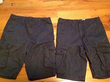 Route 66 Boys Size 14 Cargo Navy Uniform shorts lot 2 pairs