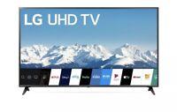 """LG 65"""" Class Quad Core 4K LED UHD 2160P HDR Smart TV  (2020 Model) Black Friday"""