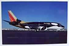Southwest Airlines Boeing 737-5H4 in the colors of 'SHAMU' Postcard