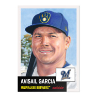 2020 Topps The MLB Living Set Baseball #311 Avisail Garcia Milwaukee Brewers