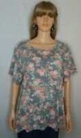 NWT NEW Women's Bobbie Brooks Size 3X 22/24 Top Shirt Blouse Casual Work Clothes