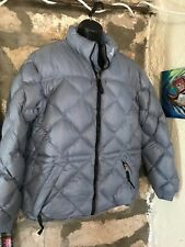 The North Face Artic Blue Down 600 Puffer Parka Jacket Coat Womens XL