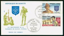 Mayfairstamps Djibouti 1982 Scouts Baden Powell First Day Cover wwo96913