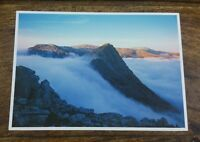 DAVE NEWBOULD WELSH PICTURE POSTCARD P217 TRYFAN AND THE CARNEDDAU