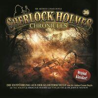 SHERLOCK HOLMES CHRONICLES-FOLGE 36:DIE ENTFÜHRUNG AUS DER KLOSTERSCHULE CD NEU