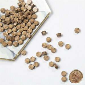 20Pc bronze Vintage Stamping Sealing Beads Wax Stamps Envelopes Party Invitation