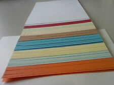 1 x 100 ASSORTED COLOURED PAPER/CARD IN 120/100/90/80gsm CLEARANCE PRICE