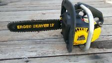 Mcculloch Eager Beaver Chainsaw model 600123C . Vintage