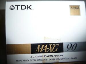 TDK MA-XG90 Box of 5 cassettes LISTING 3/4