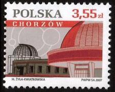 POLAND MNH 2007 Polish Cities - Chorzow