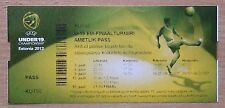 Tickets Estonia, England, Portugal, Spain, Germany, Greece, Serb EURO-2012, U-19
