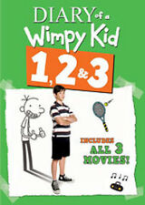 Diary Of A Wimpy Kid 1 & 2 & 3 (2014, REGION 1 DVD New)