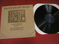 Scott Duncan Paul Pennington Phonograph Blues Psyclone Sound Rec.  Rockadelic LP