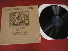 Scott Duncan Paul Pennington fonografo Blues PSYCLONE SOUND REC. Rockadelic LP
