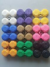40 PakTech 4-Pack Beer Can Holder Snap Top Plastic Assorted Colors