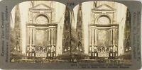 Belgium Anversa Cattedrale Notre-Dame Rubens, Foto Stereo Analogica PL62L9
