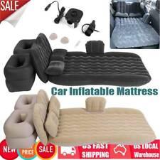 Car Air Bed Inflatable Mattress Camping Travel Sleeping Cushion Back Seat Pads