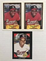 1990 Frank Thomas Minor League 3-Card Lot, 2 Pro Cards #116, 1 Best Cards #318