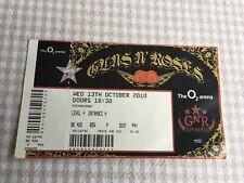 Guns n Roses ticket O2 Arena 13/10/10