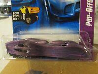 Hot Wheels Ground Fx Pop-Offs! Body Pops Off! (Body off in package)